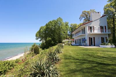 Benton Harbor, Bridgman, Harbert, New Buffalo, Sawyer, St. Joseph, Stevensville, Union Pier, Paw Paw Single Family Home For Sale: 11161 Marquette Drive