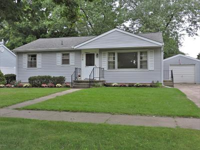 Big Rapids Single Family Home For Sale: 608 Lilac Avenue