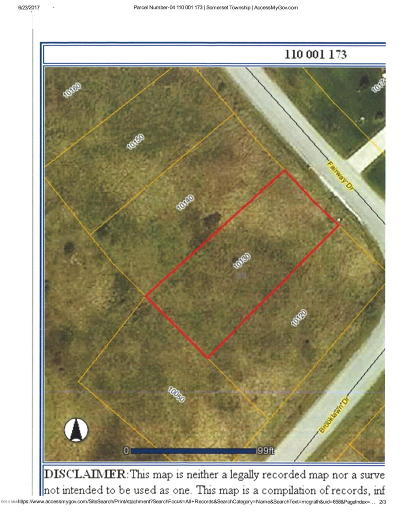Hillsdale County Residential Lots & Land For Sale: 10130 Fairway Drive