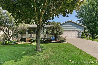Hudsonville Single Family Home For Sale: 6626 Knollview Drive