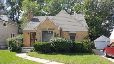Grand Rapids MI Single Family Home For Sale: $135,000