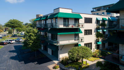 Grand Haven Condo/Townhouse For Sale: 114 N Harbor Drive