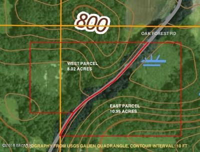 Berrien County Residential Lots & Land For Sale: Vl Oak Forest Road