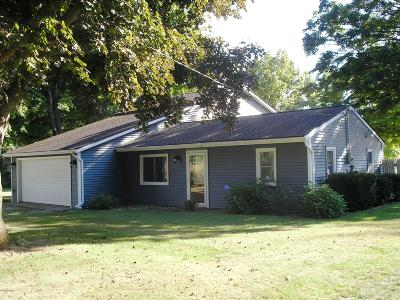 St. Joseph County Single Family Home For Sale: 66971 Winding River Road