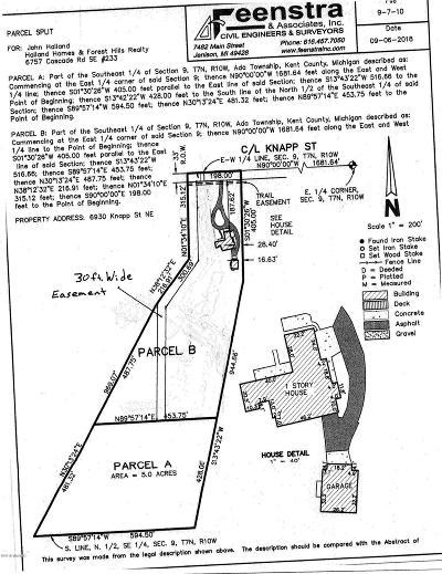 Kent County Residential Lots & Land For Sale: 6920 Knapp Street NE