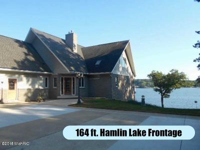 Benzie County, Charlevoix County, Clare County, Emmet County, Grand Traverse County, Kalkaska County, Lake County, Leelanau County, Manistee County, Mason County, Missaukee County, Osceola County, Roscommon County, Wexford County Single Family Home For Sale: 5873 W Pleasant Hill Road