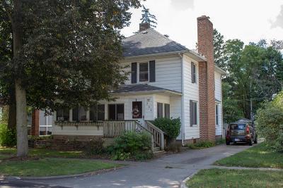 Sturgis Single Family Home For Sale: 207 Michigan Avenue