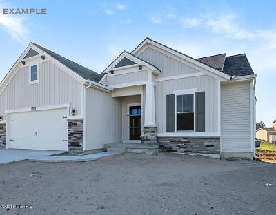 Jenison Single Family Home For Sale: 8954 Abbington Drive #Lot 281