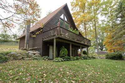 Delton Single Family Home For Sale: 4581 S Shore Drive