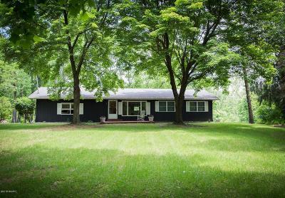 Plainwell Single Family Home For Sale: 10236 N 10th Street