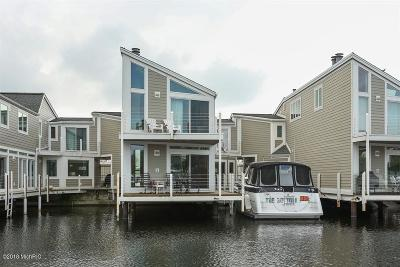 New Buffalo Condo/Townhouse For Sale: 47 Harbor Isle Drive #47