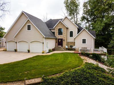 Isabella County Single Family Home For Sale: 4889 W Jordan Rd Road