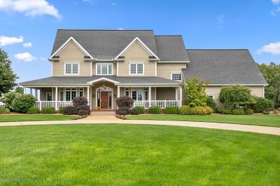Big Rapids Single Family Home For Sale: 17888 230th Avenue