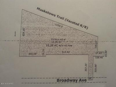 Muskegon Residential Lots & Land For Sale: E Broadway Avenue