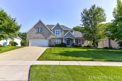 Hudsonville Single Family Home For Sale: 4407 Oak Meadow Drive