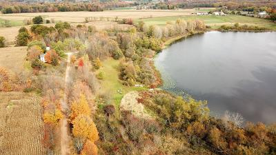 Clinton County, Gratiot County, Isabella County, Kent County, Mecosta County, Montcalm County, Muskegon County, Newaygo County, Oceana County, Ottawa County, Ionia County, Ingham County, Eaton County, Barry County, Allegan County Residential Lots & Land For Sale: 3521 W 40th #40 acres
