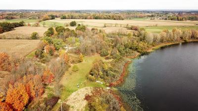 Clinton County, Gratiot County, Isabella County, Kent County, Mecosta County, Montcalm County, Muskegon County, Newaygo County, Oceana County, Ottawa County, Ionia County, Ingham County, Eaton County, Barry County, Allegan County Residential Lots & Land For Sale: 3521 W 40th #50 acres