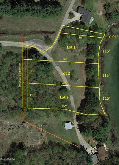 Benzie County, Charlevoix County, Clare County, Emmet County, Grand Traverse County, Kalkaska County, Lake County, Leelanau County, Manistee County, Mason County, Missaukee County, Osceola County, Roscommon County, Wexford County Residential Lots & Land For Sale: V/L W Jagger Road #Lot 3