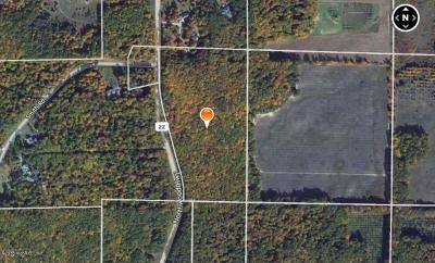 Benzie County, Charlevoix County, Clare County, Emmet County, Grand Traverse County, Kalkaska County, Lake County, Leelanau County, Manistee County, Mason County, Missaukee County, Osceola County, Roscommon County, Wexford County Residential Lots & Land For Sale: 20 Acres M-22 #`