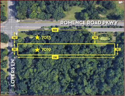 Kalamazoo County Residential Lots & Land For Sale: 7013/7019 Lovers Lane