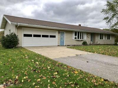 Ludington Single Family Home Active Contingent: 2660 S Brunson Road
