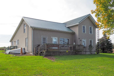 Branch County Single Family Home For Sale: 1081 Gibbs Road