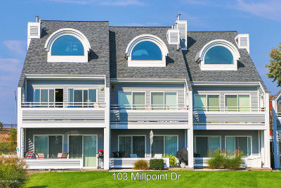 Grand Haven, Spring Lake Condo/Townhouse For Sale: 103 Millpoint Drive