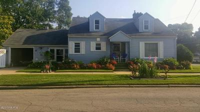 Grand Rapids MI Single Family Home For Sale: $155,000