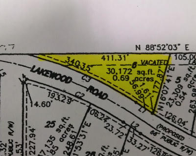 Residential Lots & Land For Sale: 1496 E Lakewood Road #Lot 6
