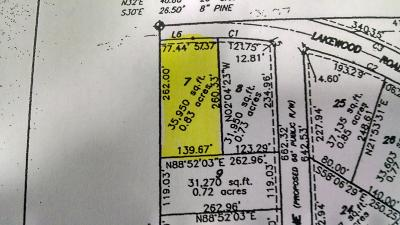 Residential Lots & Land For Sale: 1415 E Lakewood Road #Lot 7