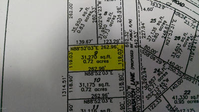 Residential Lots & Land For Sale: 6277 Wasatch Lane #Lot 9