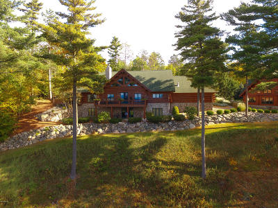 Benzie County, Charlevoix County, Clare County, Emmet County, Grand Traverse County, Kalkaska County, Lake County, Leelanau County, Manistee County, Mason County, Missaukee County, Osceola County, Roscommon County, Wexford County Single Family Home For Sale: 3815 Smith Road