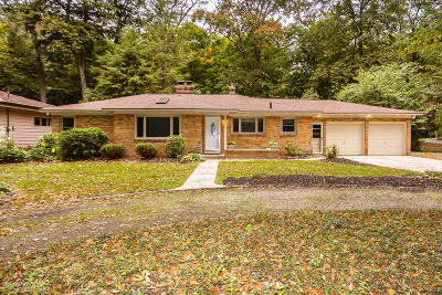 Holland, West Olive, Zeeland Single Family Home For Sale: 1455 Waukazoo Drive