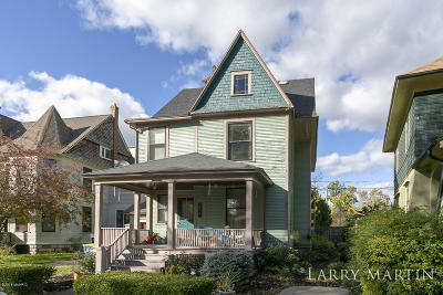 Grand Rapids Single Family Home For Sale: 214 Wellington Avenue SE