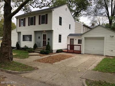 Grand Rapids MI Single Family Home For Sale: $175,000