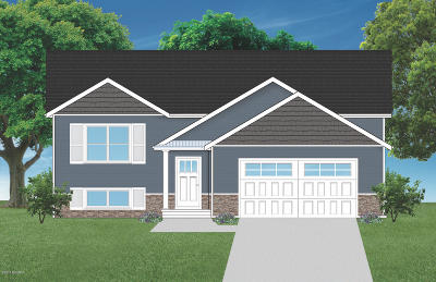 Muskegon Single Family Home For Sale: 4725 S Brooks Road #Lot C