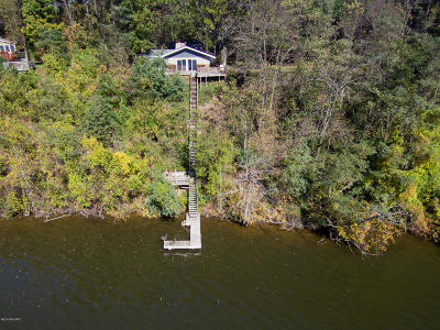 Single Family Home For Sale: 3876 Allegan Dam Road