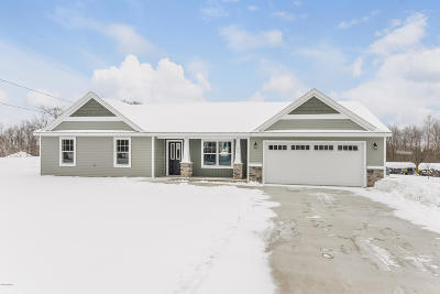 Clinton County, Gratiot County, Isabella County, Kent County, Mecosta County, Montcalm County, Muskegon County, Newaygo County, Oceana County, Ottawa County, Ionia County, Ingham County, Eaton County, Barry County, Allegan County Single Family Home For Sale: Parcel B Croton Dr