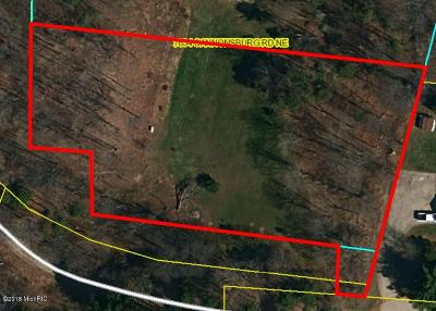 Allegan County, Barry County, Clinton County, Eaton County, Gratiot County, Ingham County, Ionia County, Isabella County, Kent County, Mecosta County, Montcalm County, Muskegon County, Newaygo County, Oceana County, Ottawa County Residential Lots & Land For Sale: 7851 Cary St NE