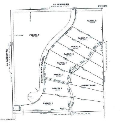 Belding Residential Lots & Land For Sale: Country Road #Lot 9