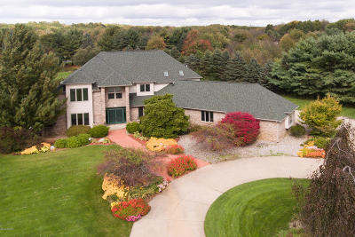 Kalamazoo Single Family Home For Sale: 7080 Foxmoor Court E