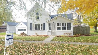 Single Family Home For Sale: 933 Pleasant Street