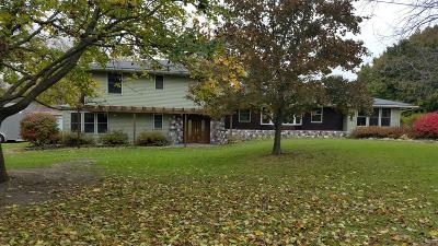 Hillsdale Single Family Home For Sale: 1920 Bridge Road