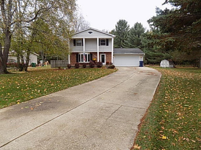 Cadillac Single Family Home For Sale: 8189 Cherry Ln. Lane