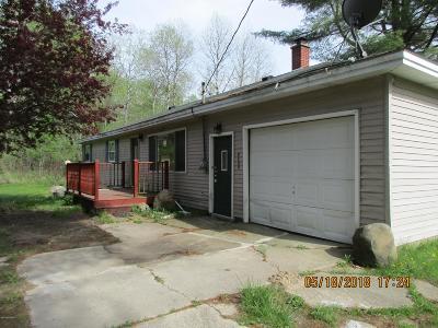 Newaygo County Single Family Home For Sale: 3632 E 6 Mile Road