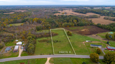Allegan Residential Lots & Land For Sale: 2626 Parcel B 30th Street