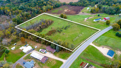 Allegan Residential Lots & Land For Sale: 2626 Parcel C 30th Street