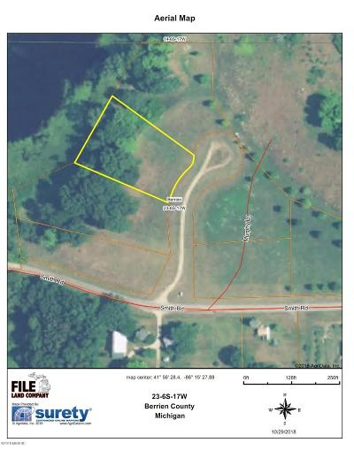 Berrien Springs Residential Lots & Land For Sale: 9982 Murphy Lane