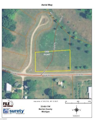 Berrien Springs Residential Lots & Land For Sale: 10211 Murphy Lane