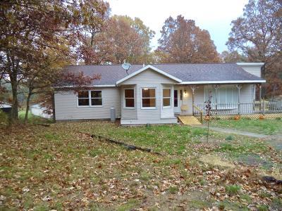 Twin Lake Single Family Home For Sale: 7272 Blue Lake Road